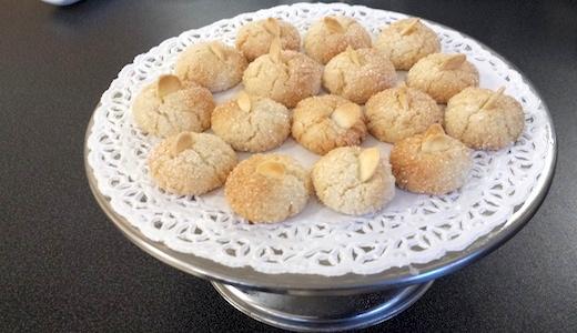 biscottini alle mandorle