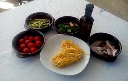 Tagliolini-zucchine-triglie-ingredienti