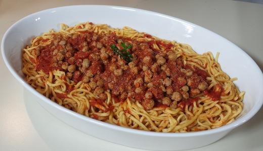 spaghetti alla chitarra ...