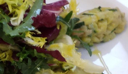 Ricetta quenelle di alici e zucchine