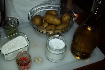 Ingredienti frittata di patate