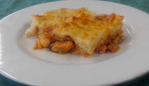 Ricetta lasagna di pesce