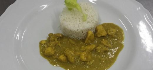 riso basmati con pollo al curry
