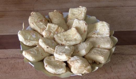 formaggio fritto in pastella