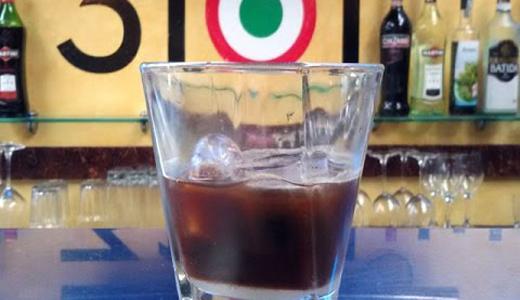 caffè-in-ghiaccio latte di mandorla